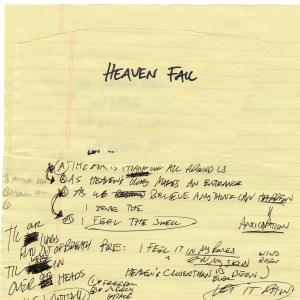Heaven Fall by Cody Carnes Chords and Sheet Music