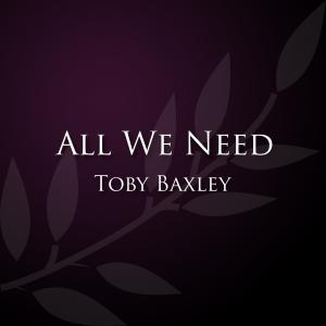 All We Need by Toby Baxley Chords and Sheet Music