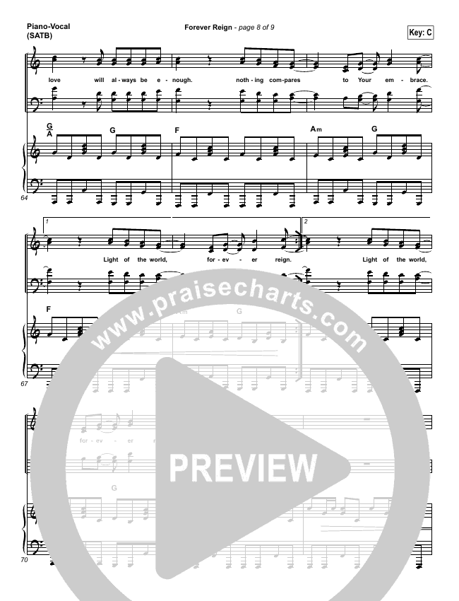 forever reign piano sheet music - Heart.impulsar.co