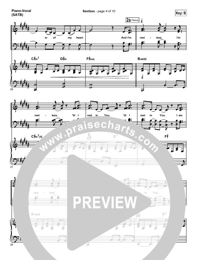restless audrey assad sheet music pdf