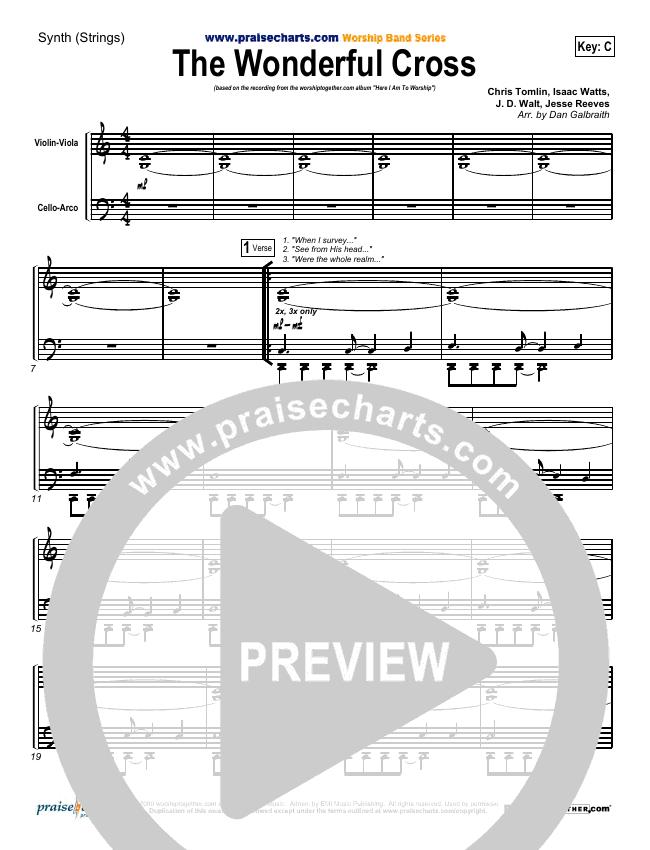 The Wonderful Cross String Pack (Chris Tomlin)