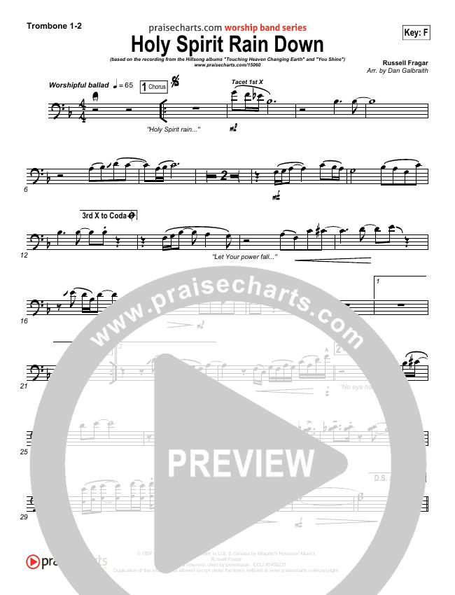 Holy Spirit Rain Down Brass Pack (Hillsong Worship)