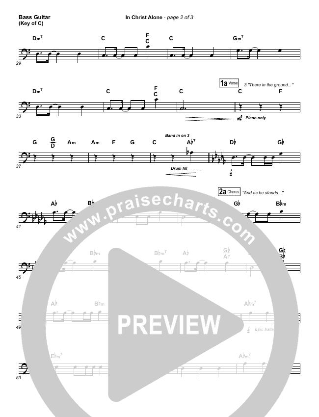 In Christ Alone Bass Guitar (Keith & Kristyn Getty)