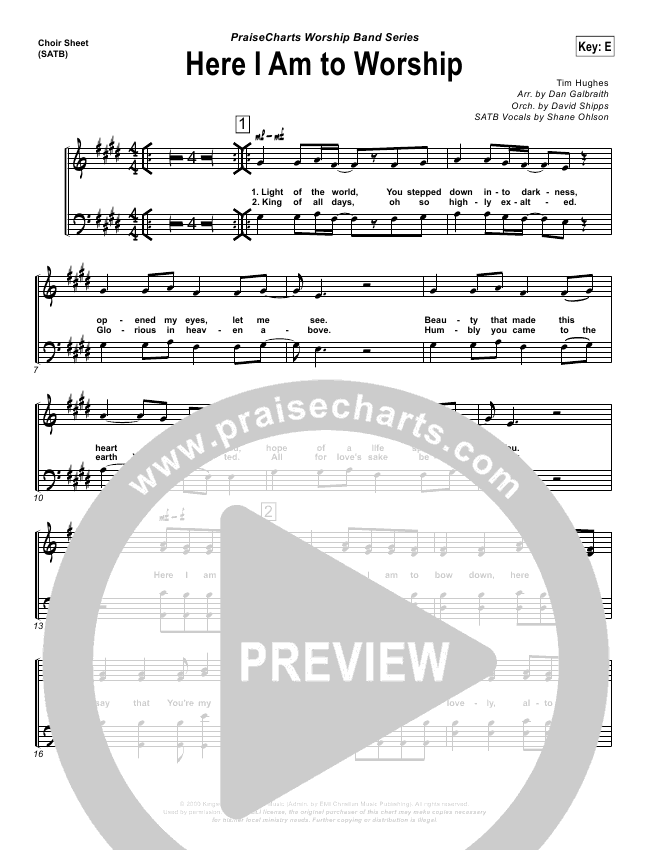 A Cappella Sheet Music Free