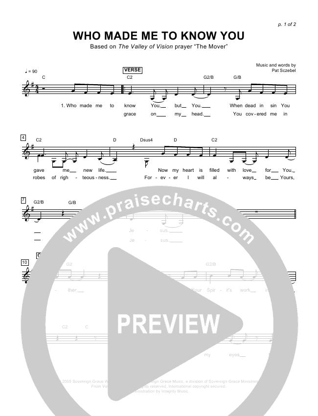 Living Proof Lead Sheet (SAT) (David & Nicole Binion / Steffany Gretzinger)