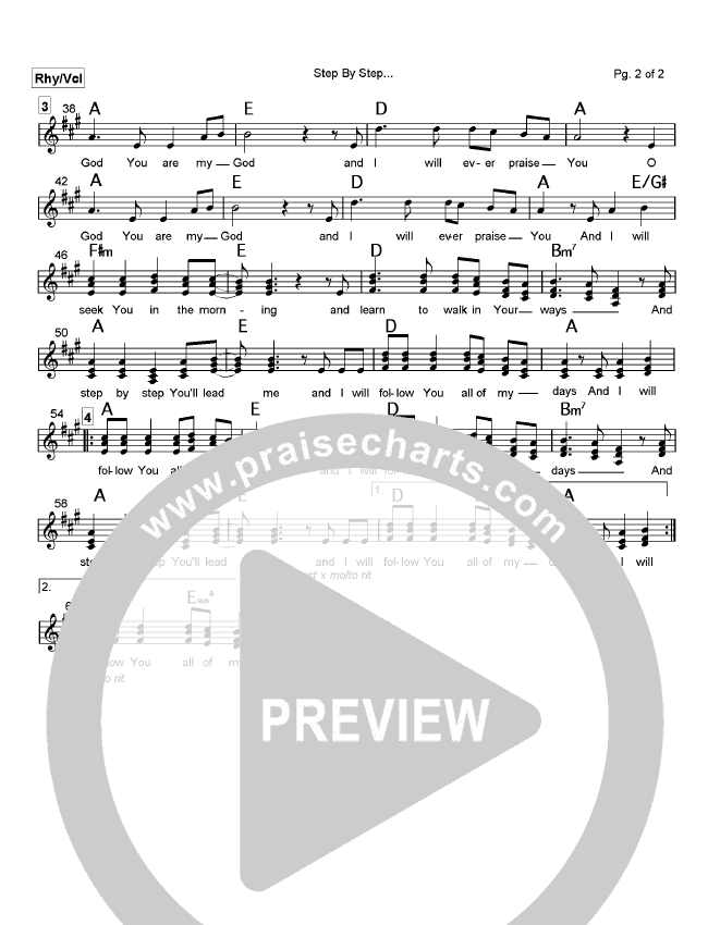 Step By Step Orchestration (Rich Mullins)