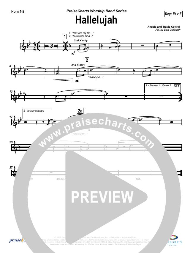 Hallelujah (Praise the Lord) Brass Pack (Travis Cottrell)