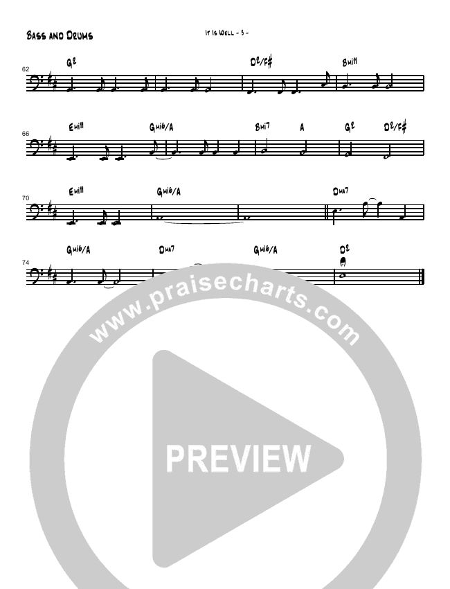 It Is Well With My Soul (Instrumental) Orchestration (Brad Henderson)