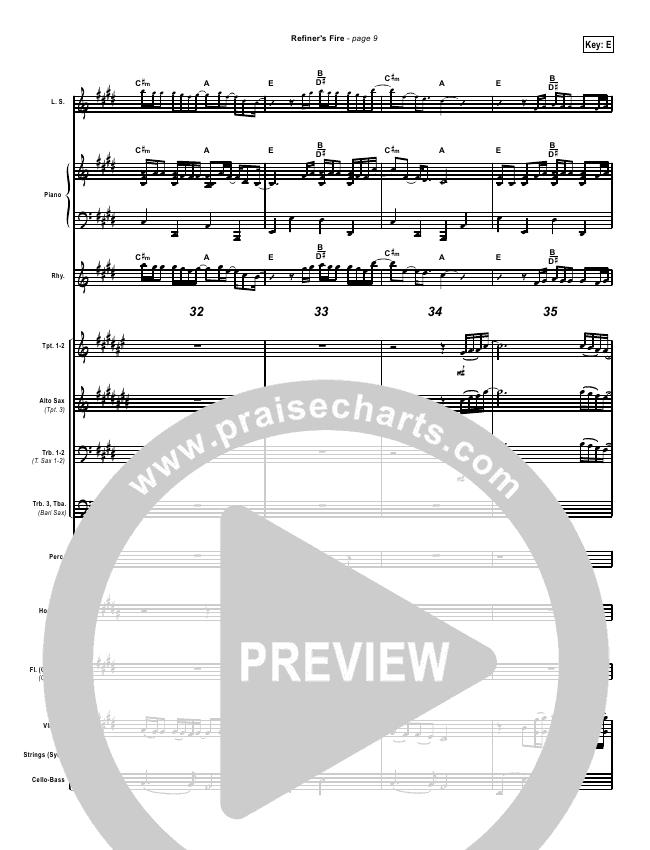 Refiners Fire Orchestration Brian Doerksen Praisecharts