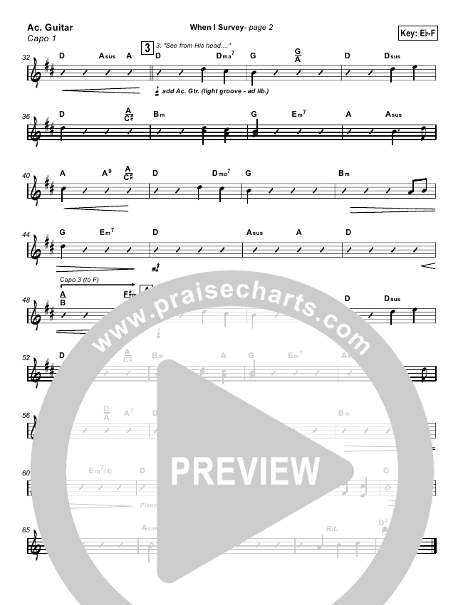 When I Survey The Wondrous Cross Orchestration Kathryn Scott
