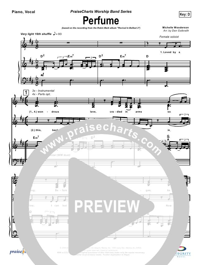 Perfume Lead & Piano (Robin Mark)