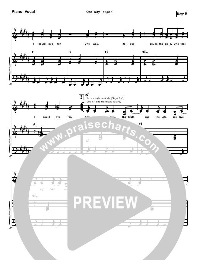 One Way Jesus Piano Chords Image Collections Chord Guitar Finger