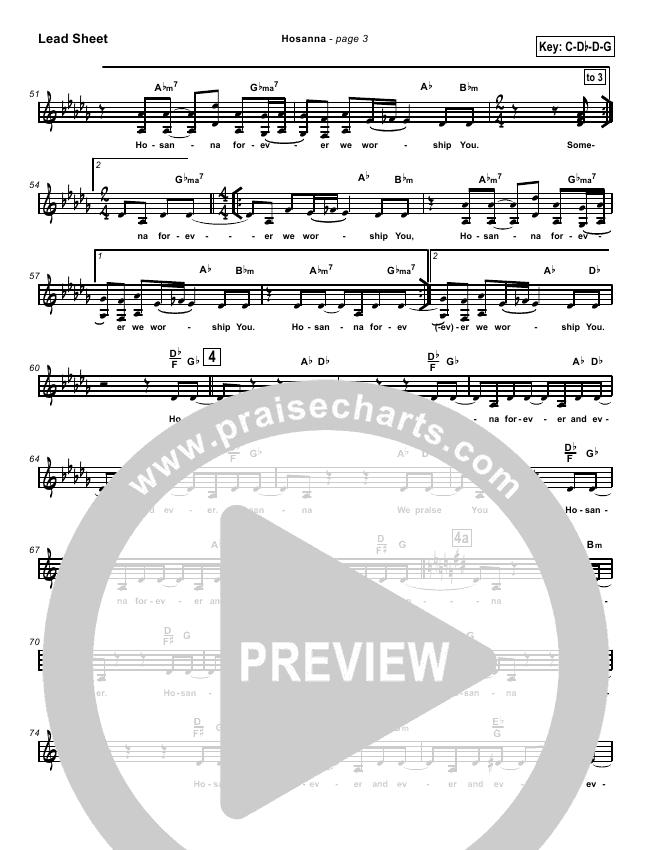Hosanna Orchestration & Finale (Kirk Franklin)