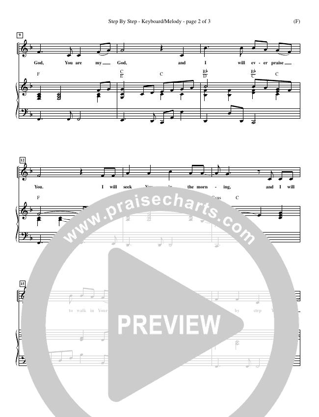 Step By Step Piano Sheet (David Strasser)