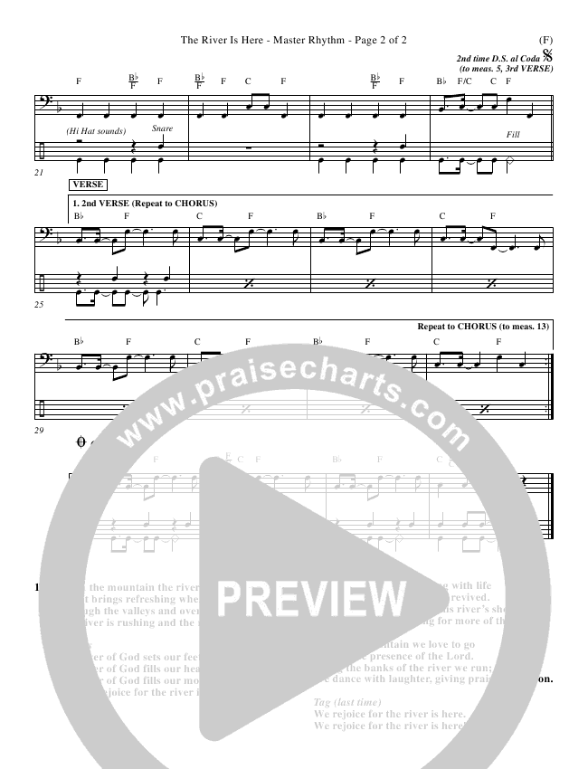 Andy Park The River Is Here Piano Sheet In F P2: River Run Sheet Music At Alzheimers-prions.com