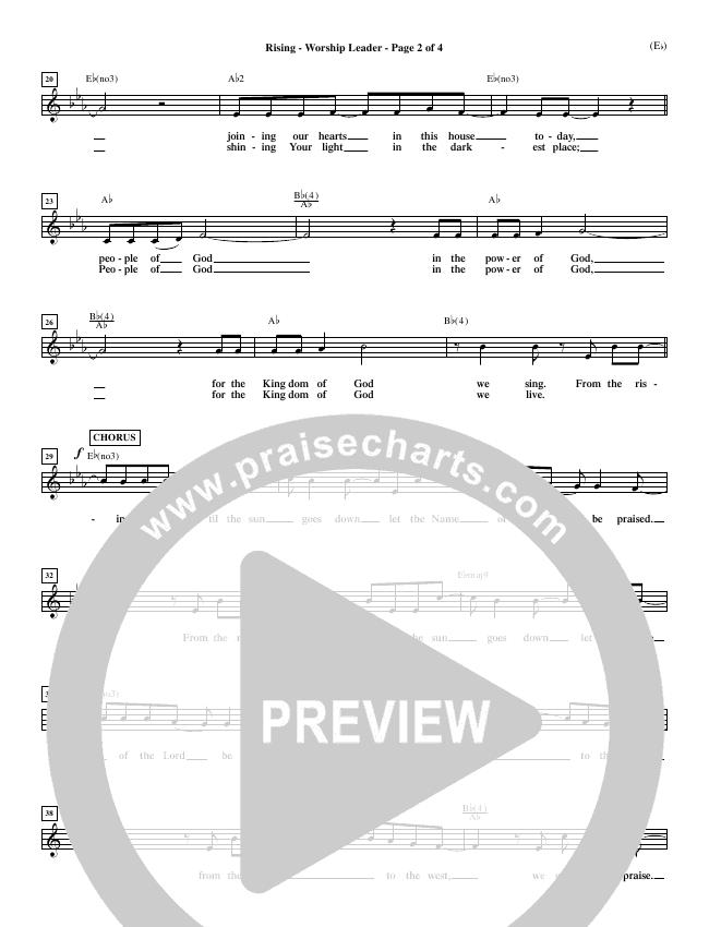 Rising Orchestration (Paul Baloche)