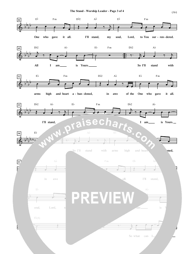 The Stand Orchestration (Joel Houston)