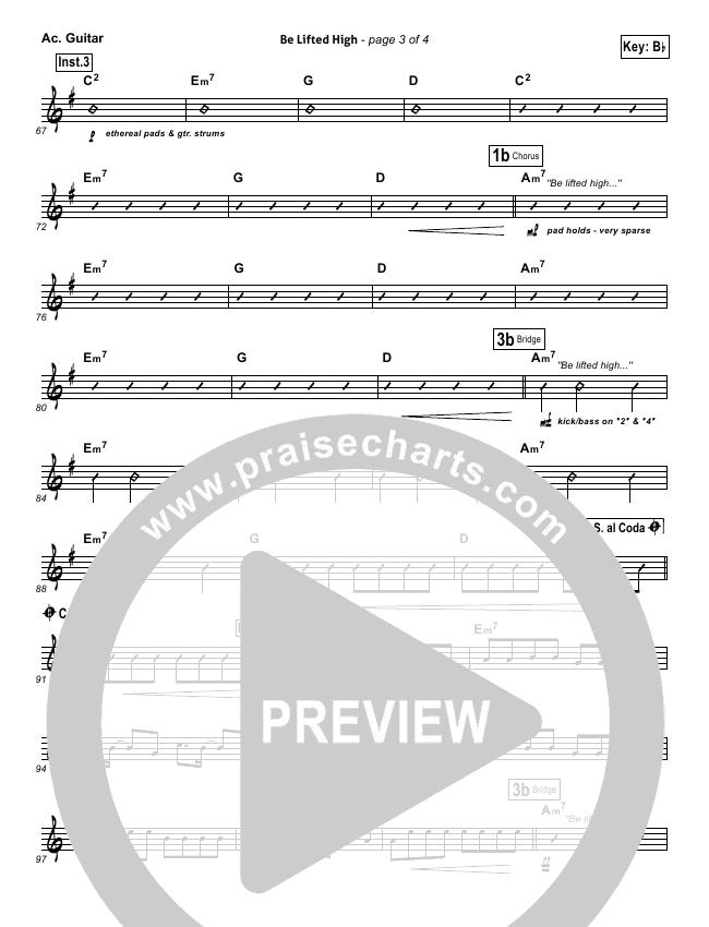 Be Lifted High Rhythm Chart (Bethel Music)