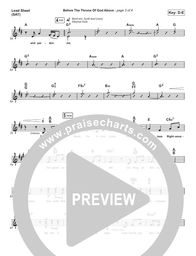 Let Everything Choir Sheet (SATB) (Vertical Worship)