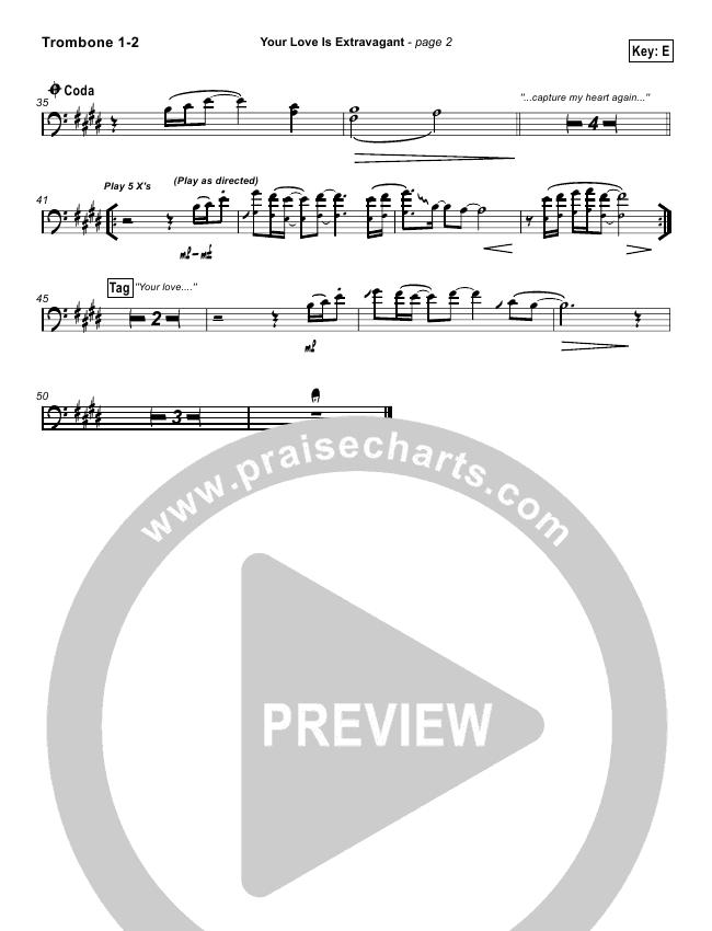Your Love Is Extravagant Orchestration Darrell Evans Praisecharts
