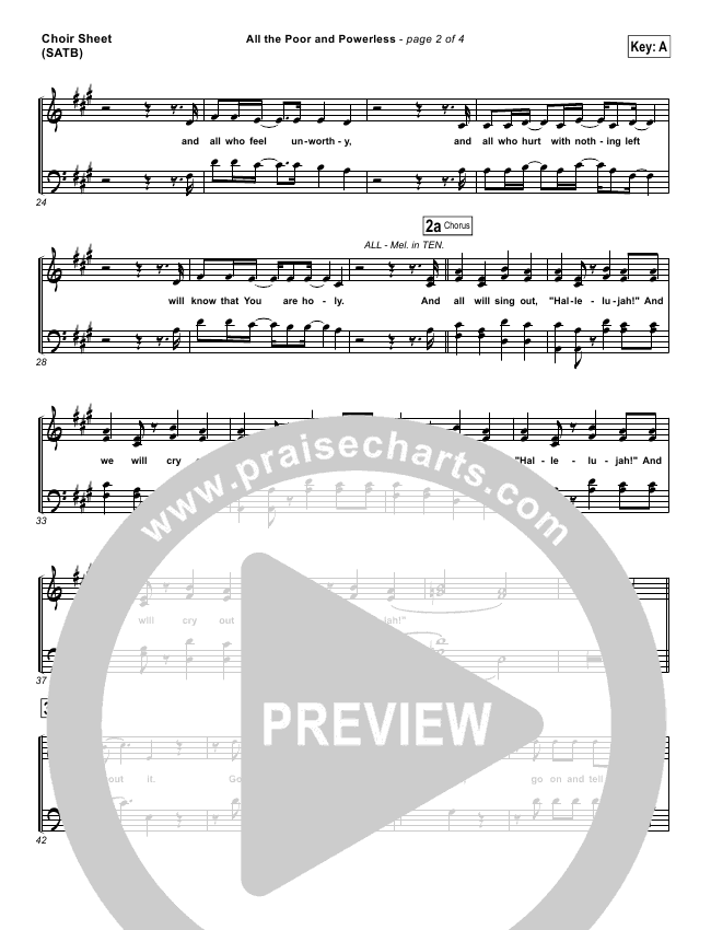 all the poor and powerless sheet music - Heart.impulsar.co
