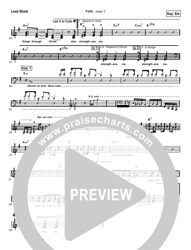 Faith Lead & Piano/Vocal (Hillsong Worship)