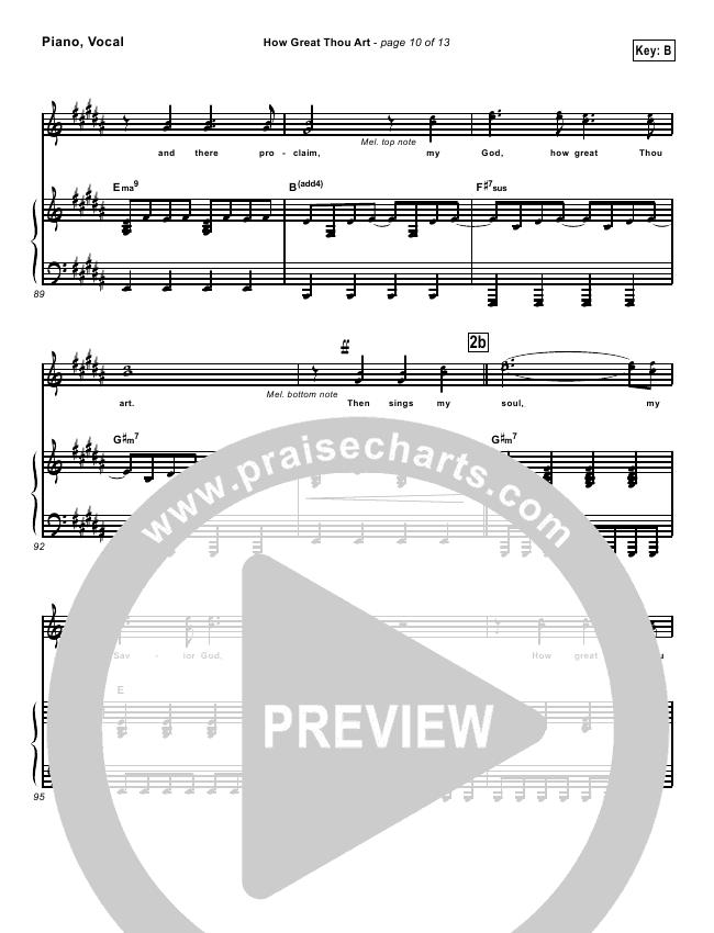 how great thou art lead sheet pdf