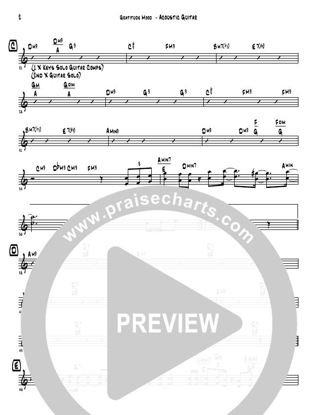 Gratitude Mood (Instrumental) Inst. Ensemble (David Arivett)