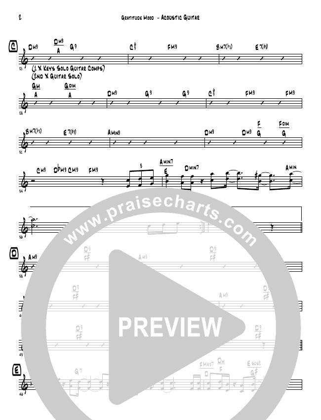 Gratitude Mood (Instrumental) Lead & Piano (David Arivett)