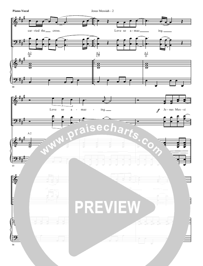 Jesus Messiah Orchestration (with Vocals) (G3 Worship)