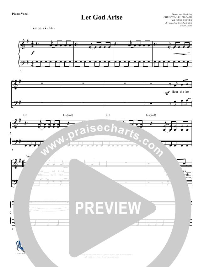 Let God Arise Orchestration (G3 Worship)