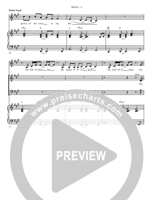 Believe Orchestration (G3 Worship)