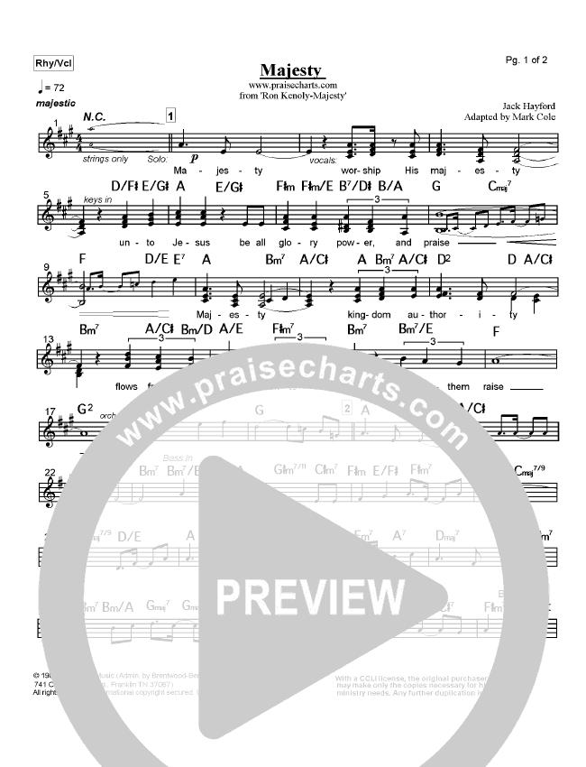 Majesty Orchestration (Ron Kenoly)