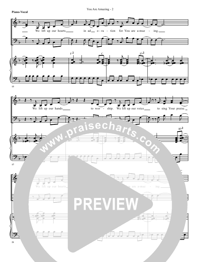 House Of The Lord Lead Sheet (SAT) (Phil Wickham)
