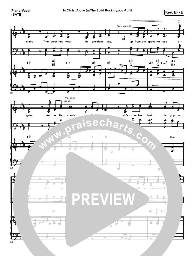 in christ alone piano pdf