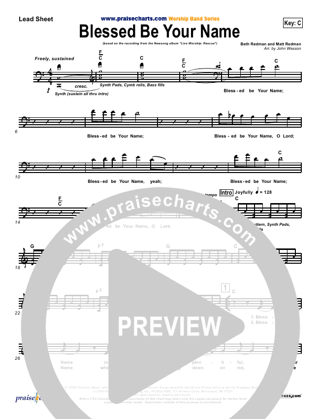 Blessed Be Your Name Orchestration (Newsong)