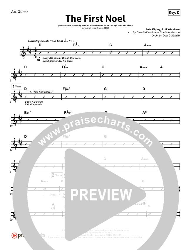 The First Noel Rhythm Chart Phil Wickham Praisecharts