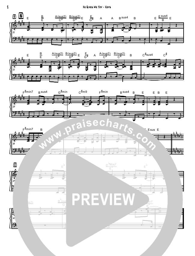 He Gives Me Joy (Instrumental) Piano Solo (David Arivett)