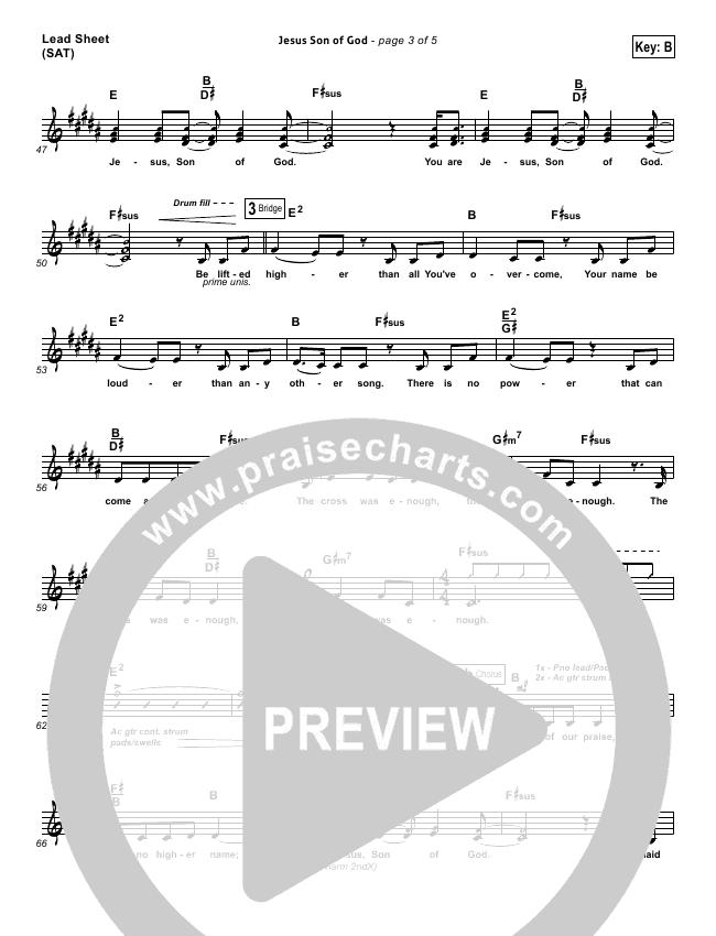 Jesus Son Of God Orchestration & Finale (Passion / Chris Tomlin / Christy Nockels)