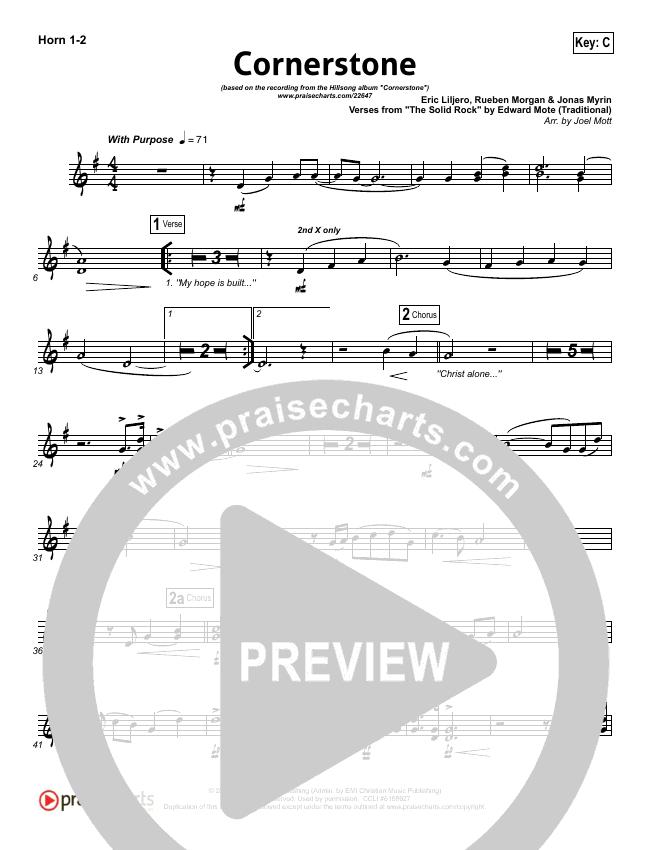 Cornerstone Orchestration Hillsong Worship Praisecharts