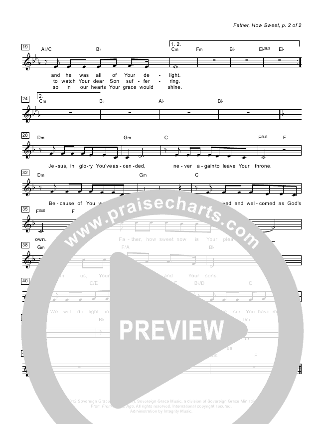 Open Up The Heavens Chords & Lyrics (Vertical Worship)