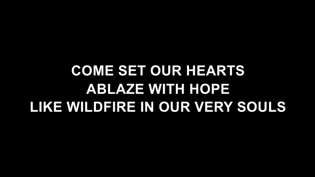 Build Your Kingdom Here Lyric Slides (Rend Collective)
