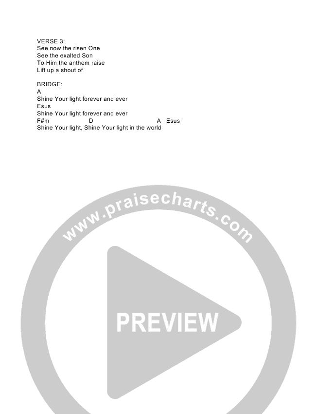 Praise Him Chord Chart (The Royal Royal)