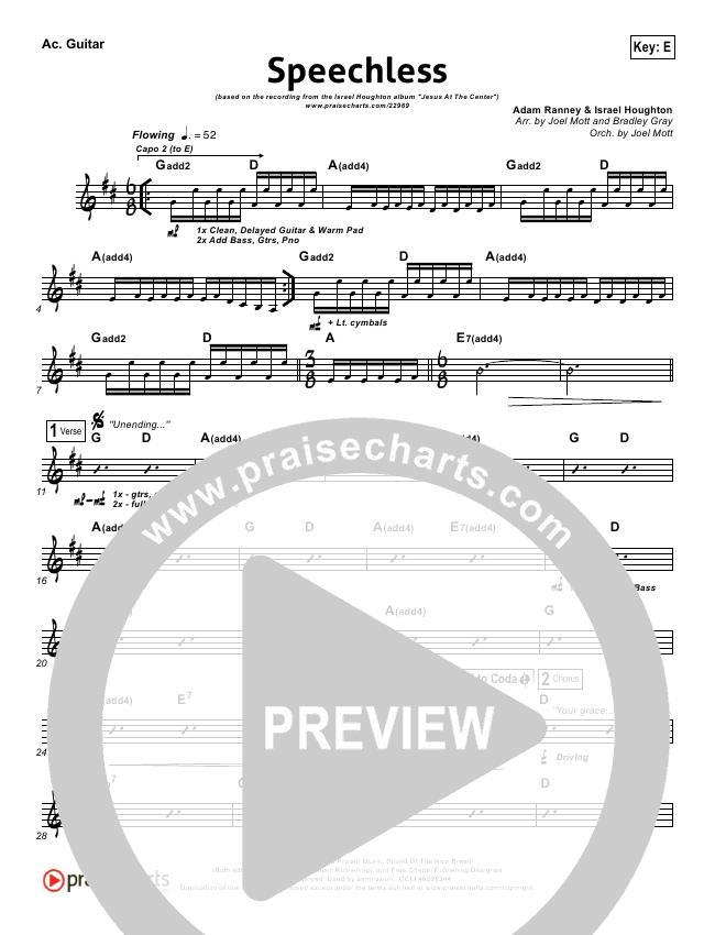 Speechless Rhythm Chart Israel Houghton Praisecharts