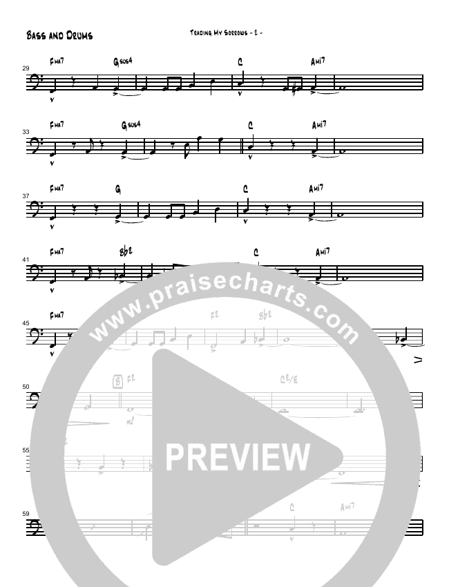 Trading My Sorrows Orchestration (Brad Henderson)