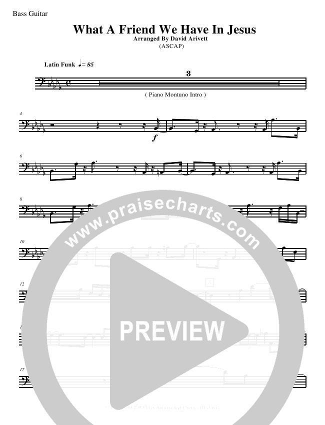 What A Friend We Have In Jesus Instrumental Ensemble - David Arivett ...