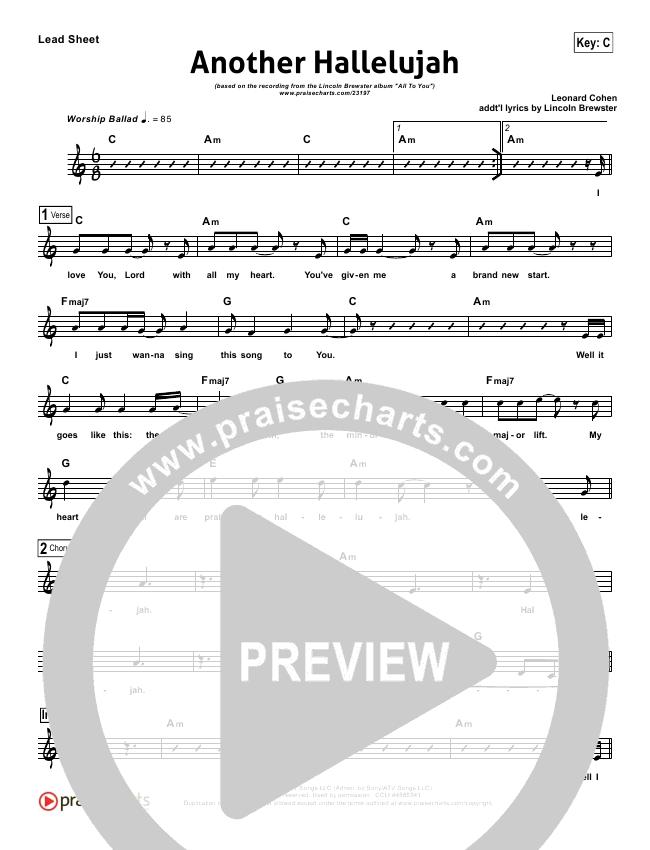 Modern Another Hallelujah Chords Adornment Basic Guitar