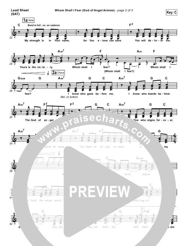 Whom Shall I Fear (God Of Angel Armies) Orchestration - Chris Tomlin ...