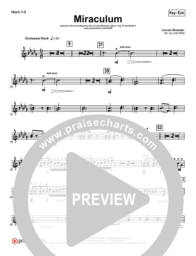 Miraculum Brass Pack (Lincoln Brewster)