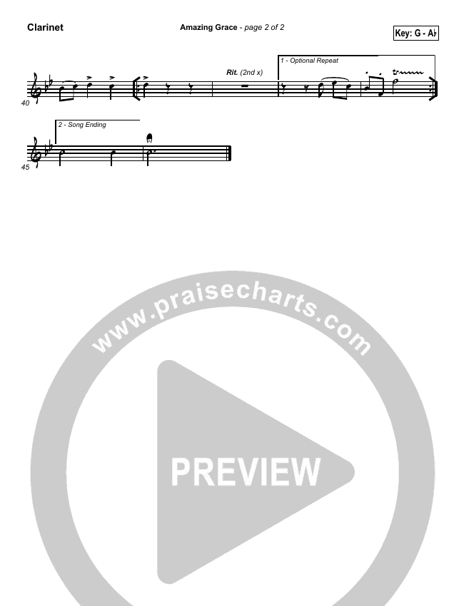 Amazing Grace Wind Pack (PraiseCharts / Traditional Hymn)